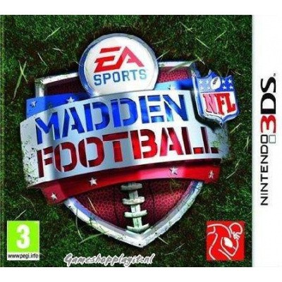Madden Football Nfl 3DS