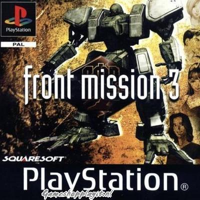 Foto van Front Mission 3 PS1
