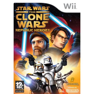 Foto van Star Wars The Clone Wars Republic Heroes WII