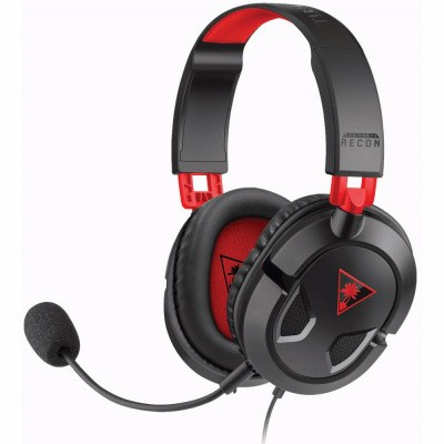 Foto van Turtle Beach Ear Force Recon 50 Wired Stereo Gaming Headset Zwart PC