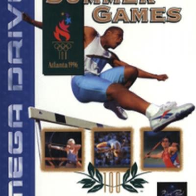 Foto van Olympic Summer Games Atlanta 1996 SEGA MEGADRIVE