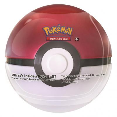 TCG Pokémon Pokéball March Tin - Pokéball POKEMON
