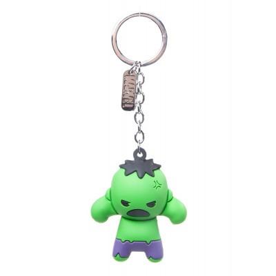 Foto van Marvel - The Hulk Character 3D Rubber Keychain