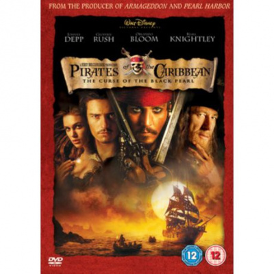 Foto van Pirates Of The Caribbean 1 The Curse Of The Black Pearl (Import) DVD