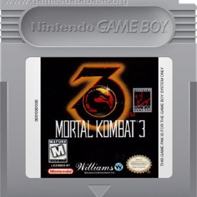 Foto van Mortal Kombat 3 (Cartridge Only) GAMEBOY