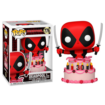 Pop! Marvel: Deadpool 30th - Deadpool in Cake FUNKO
