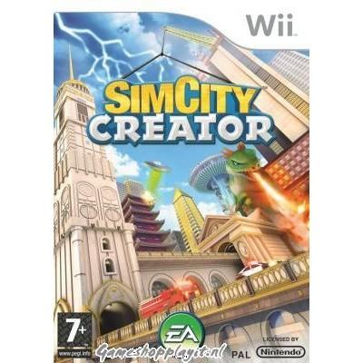Foto van Simcity Creator WII