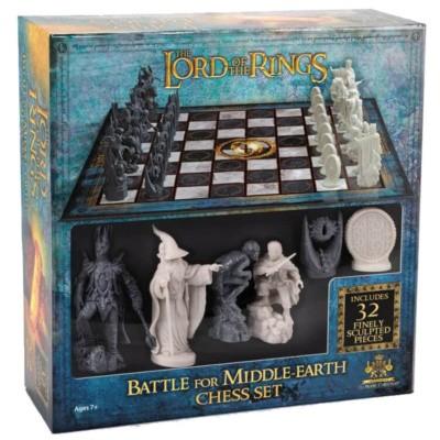 Foto van The Lord of the Rings Chess Set BORDSPELLEN