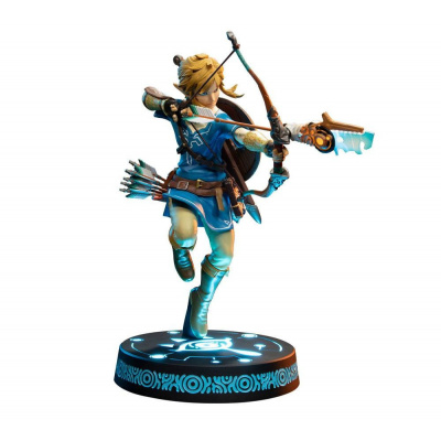 Zelda: Breath of the Wild - Link 25 cm - Light Up Statue First 4 Figures