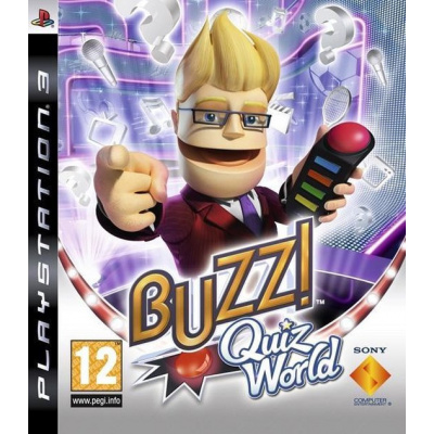 Buzz Quiz World (Game Only) PS3