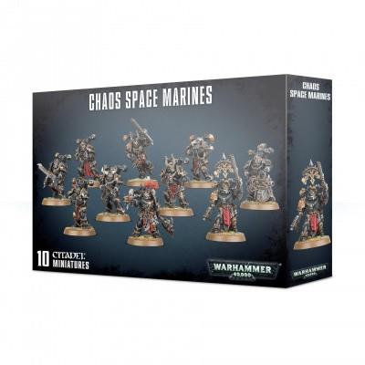 Foto van Chaos Space Marines WARHAMMER 40K