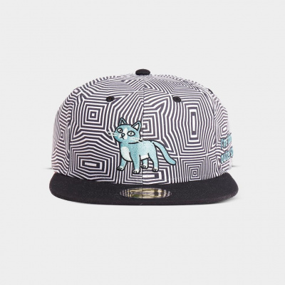 Rick & Morty - Cat Outer Space Snapback MERCHANDISE