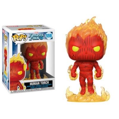 Pop! Marvel: Fantastic Four - Human Torch FUNKO
