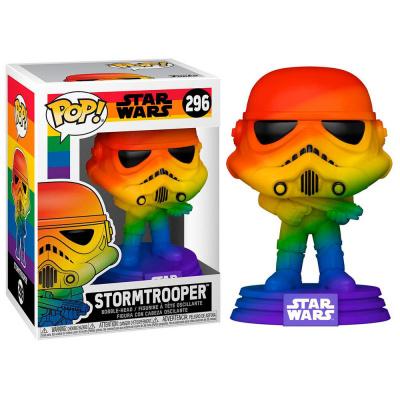 Foto van Pop: Pride: Star Wars - Stormtrooper Rainbow FUNKO