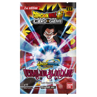 Foto van TCG Dragon Ball Vermilion Bloodline Booster Pack B 11 (2nd Edition) DRAGON BALL