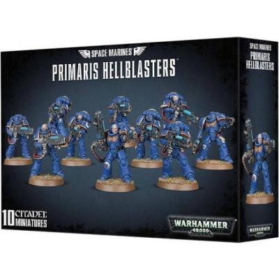 Foto van Space Marines Primaris Hellblasters Warhammer 40k