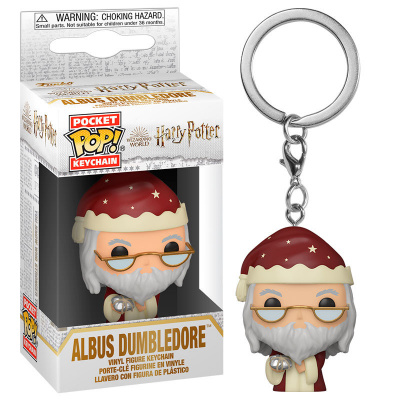Pocket Pop! Keychain: Harry Potter - Holiday Dumbledore FUNKO