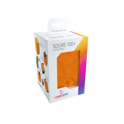 Foto van TCG Deckbox Squire 100+ Convertible - Orange DECKBOX