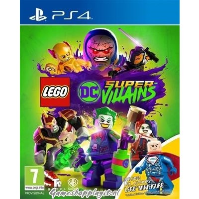 Lego DC Super-Villains (Toy Edition) PS4