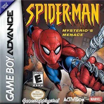 Foto van Spider-Man Mysterio's Menace GBA LOSSE GAME