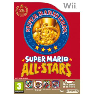 Foto van Super Mario All-Stars WII