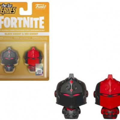 Foto van Fortnite Pint Size Heroes Black Knight And Red Knight 2-Pack FUNKO