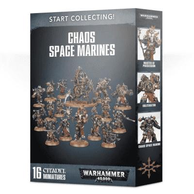 Foto van Start Collecting! Chaos Space Marines (2019) WARHAMMER 40,000