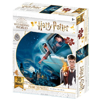 Harry Potter: Harry and Ron in Ford Anglia Prime 3D puzzle 300pcs PUZZEL