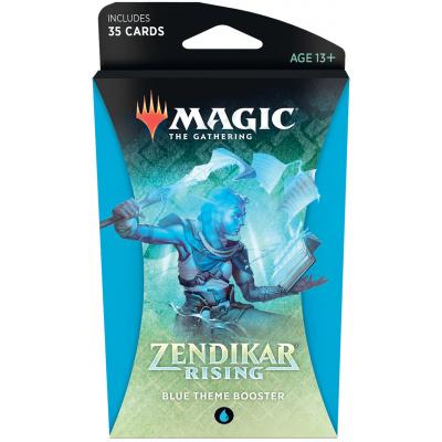 TCG Magic The Gathering Zendikar Rising Blue Theme Booster MAGIC THE GATHERING