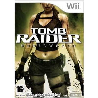 Foto van Tomb Raider Underworld WII