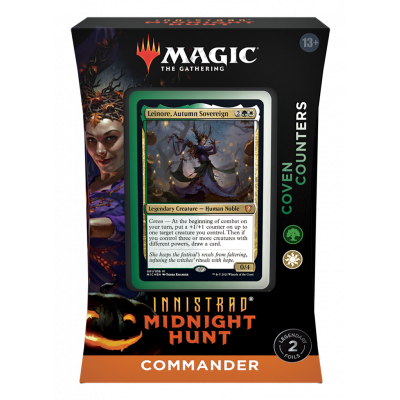 TCG Magic The Gathering Innistrad Midnight Hunt Commander Deck - Coven Counters MAGIC THE GATH
