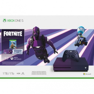 Foto van Xbox One S Special Edition Console 1TB + Fortnite & 1 Month Xbox Live Gold XBOX ONE
