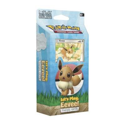 Foto van TCG Pokémon Theme Deck Let's play, Eevee! POKEMON
