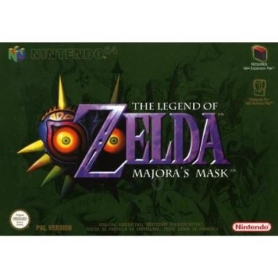 Foto van The Legend Of Zelda Majora's Mask N64