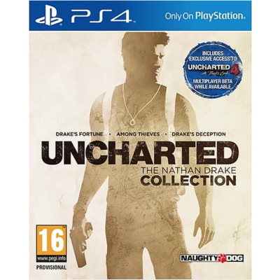 Uncharted The Nathan Drake Coll. PS4