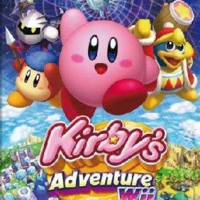 Foto van Kirby's Adventure WII