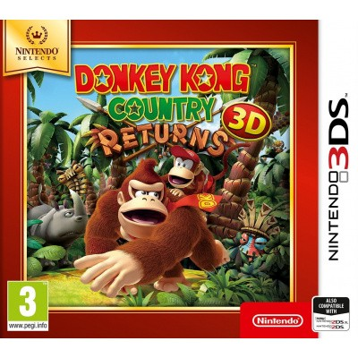 Foto van Donkey Kong Country Returns 3D (Selects) 3DS