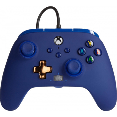 Foto van PowerA Enhanced Wired Controller for Xbox Series X/S (Midnight) XBOX ONE