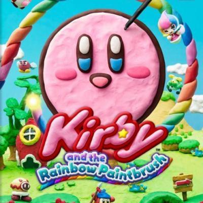 Foto van Kirby And The Rainbow Paintbrush WII U