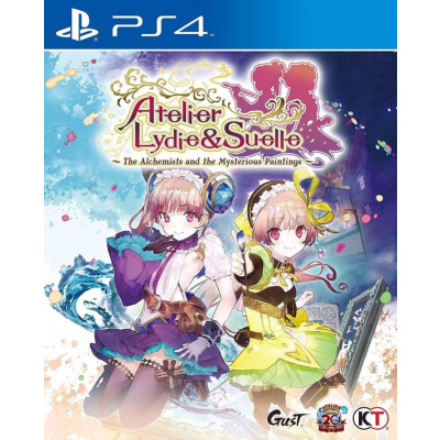 Atelier Lydie & Suelle - The Alchemists And The Musterious Paint PS4