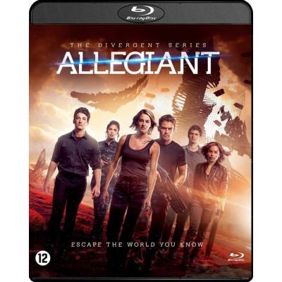 Foto van The Divergent Series Allegiant BLU-RAY