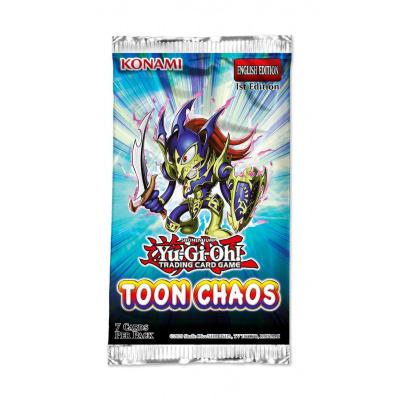 TCG Yu-Gi-Oh! Toon Chaos Booster Pack - Unlimited Reprint YU-GI-OH