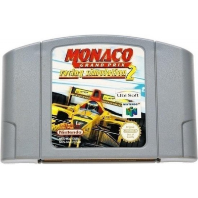 Foto van Monaco Grand Prix Racing Simulation 2 (Losse Cassette) N64