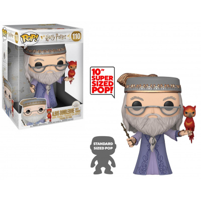 Pop! Harry Potter: Dumbledore with Fawkes 10 Inch FUNKO