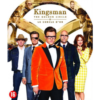Foto van Kingsman The Golden Circle DVD