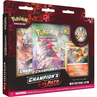 Foto van TCG Pokémon Champion's Path Pin Collection - Motostoke Gym POKEMON