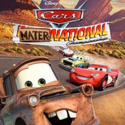Cars De Internationale Race Van Takel WII