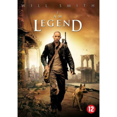 Foto van I Am Legend DVD