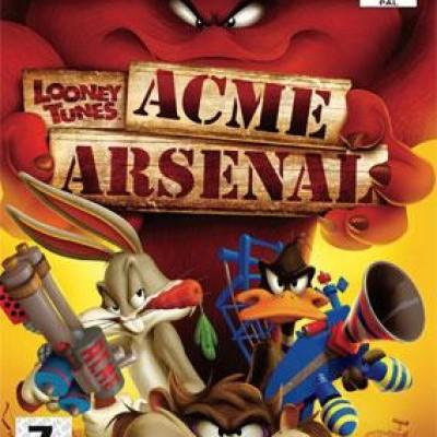 Foto van Looney Tunes Acme Arsenal PS2