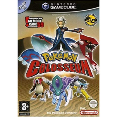 Foto van Pokemon Colosseum (Franse cover, Game Engelstalig Excl. Memory Card) NGC